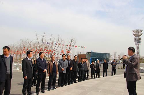扶风县考察团来眉县调研群众路线教育实践活动