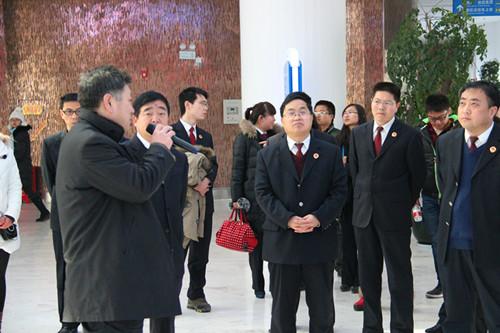 眉县检察院全体同志参观太白山