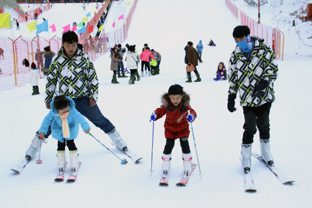 相约太白山滑雪场