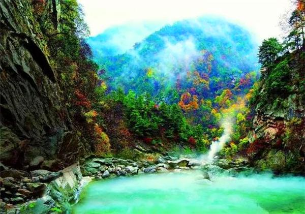 最是一年冬好处 绝胜温泉太白山