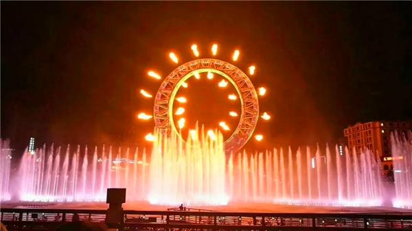 太白山音乐喷泉