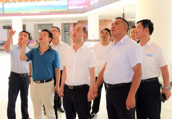 市文化和旅游局验收第三批省级旅游示范县准备工作