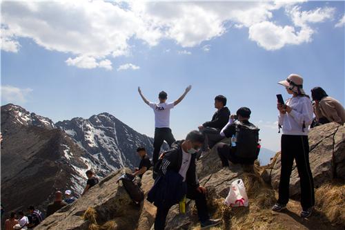 五一假期第三天,快乐遍布太白山