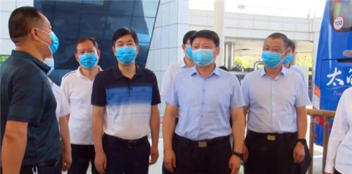 叶盛强带队检查端午节安全生产和疫情防控等工作