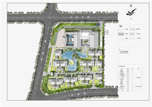 太白山居项目规划方案批前公示