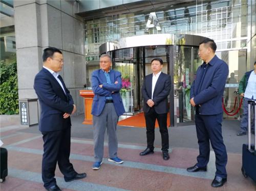 太白山招商小分队赴上海开展招商活动