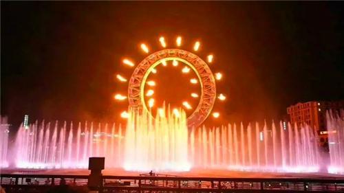 太白山之眼音乐喷泉清明假期开放时间通知
