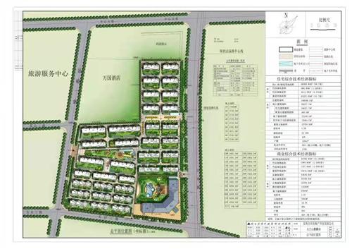 麒麟府温泉度假小镇项目住宅区规划调整方案批前公示